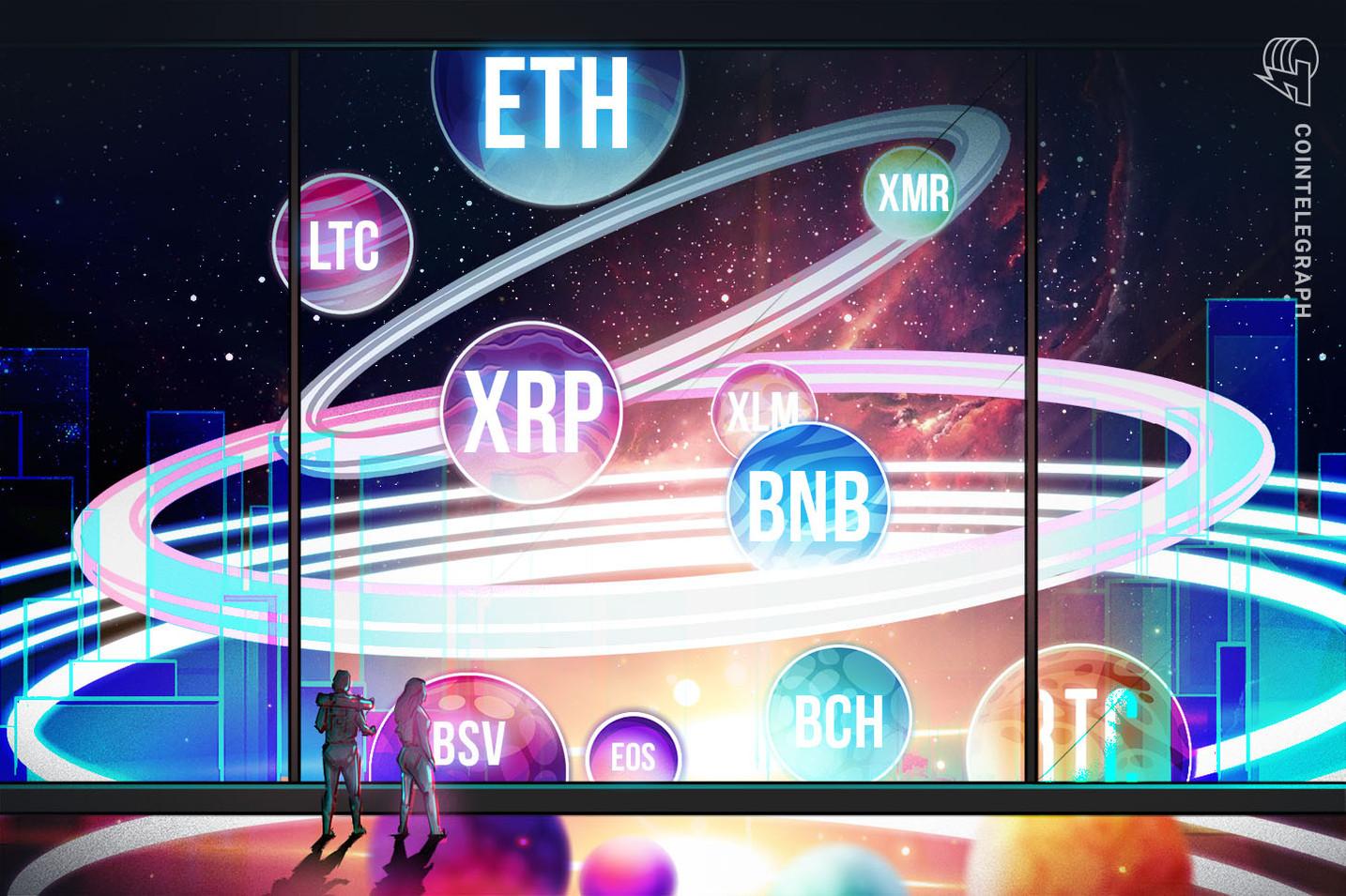 Análisis de Precios 02/09: BTC, ETH, XRP, BCH, LTC, BNB, EOS, BSV, XLM, XMR