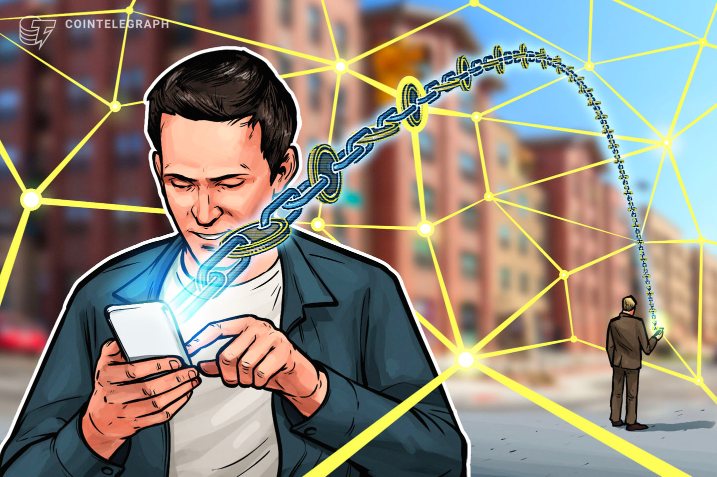 Gigante de las telecomunicaciones AT&T busca una patente para un sistema de 'mapeo' de los medios sociales habilitados por la cadena de bloques
