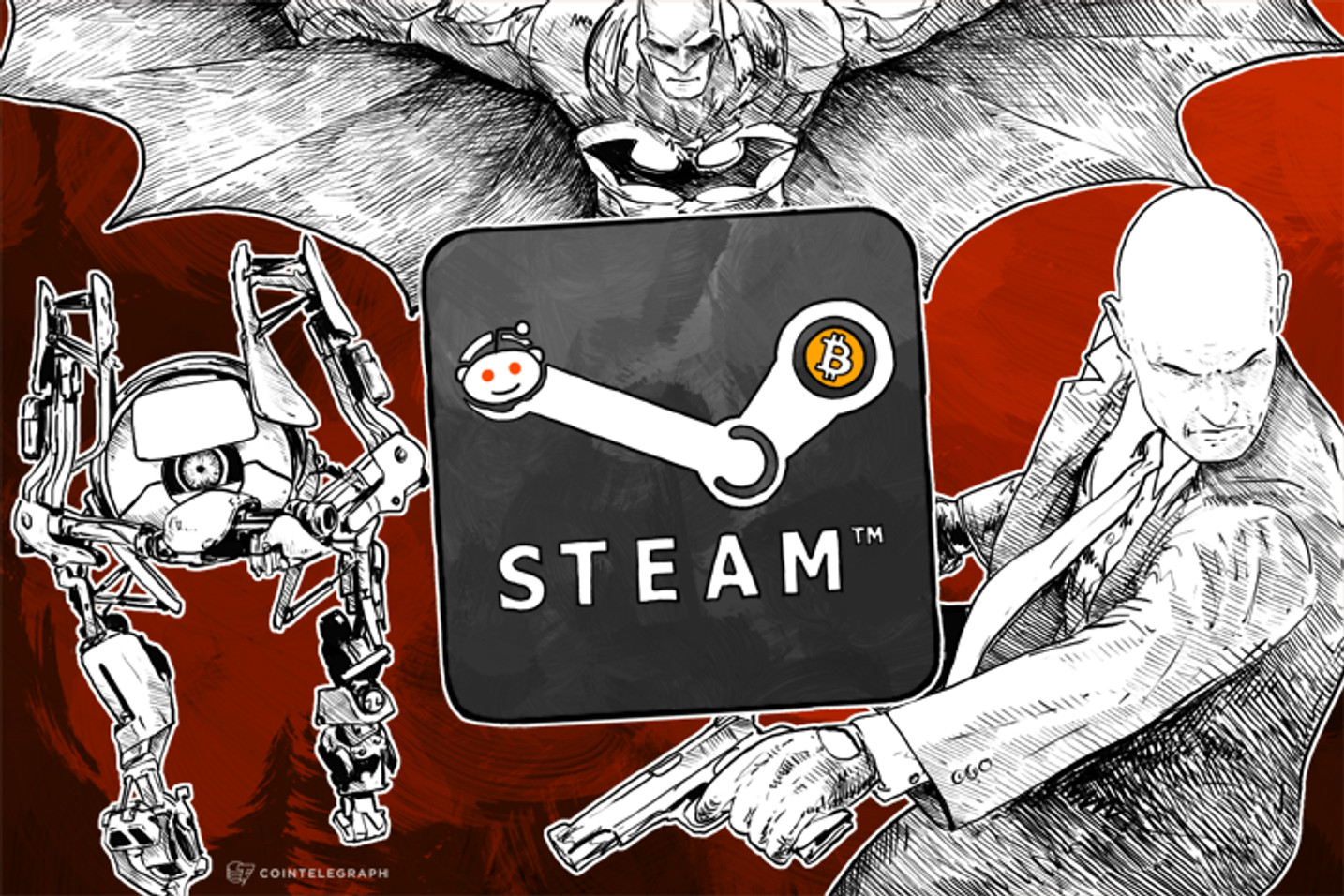 New Reddit Bot Offers Discounted Steam Games for Bitcoin