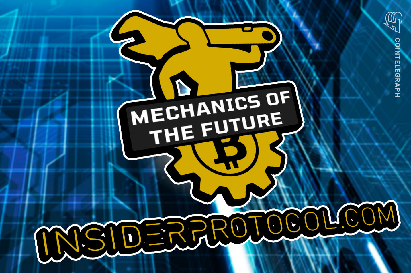 Bitcoin trading bot from Insider Protocol by the Mechanics of the Future
