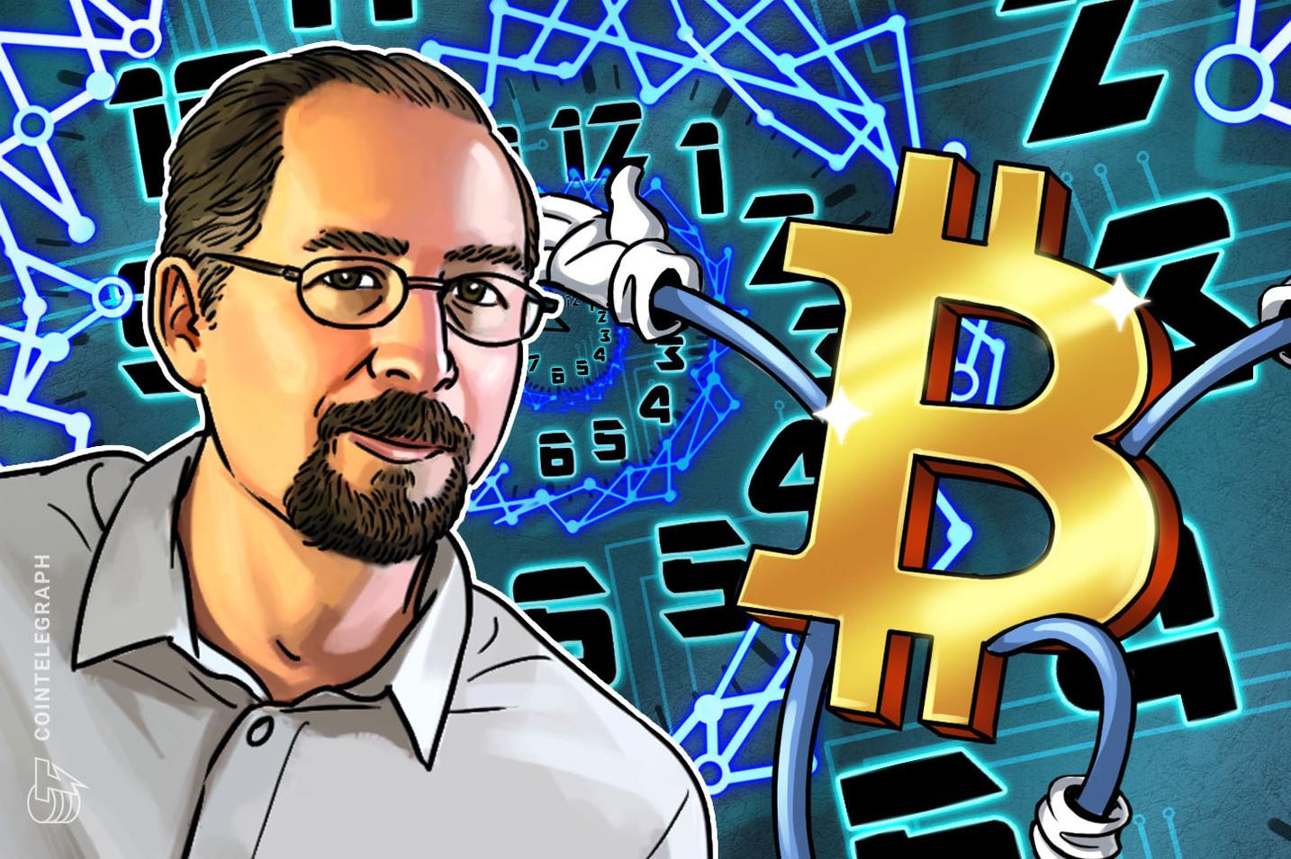 """El """"tiempo de Bitcoin"""" se mueve más rápido que el """"tiempo de Internet"""", dice el inventor del sistema PoW en hashcash Adam Back"""