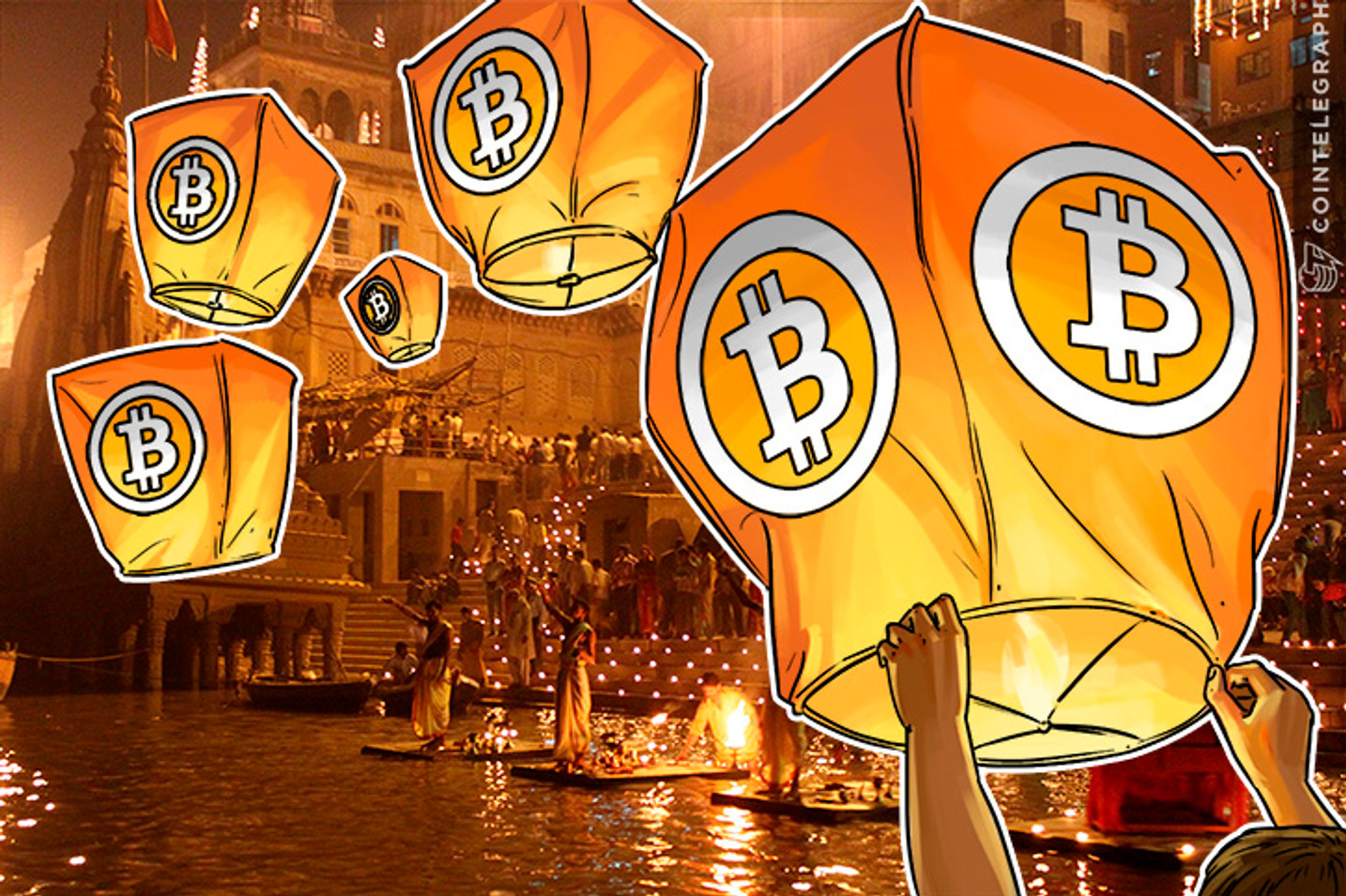 Bitcoin Demand Explodes in India, Overwhelmed Exchanges Put Limits on Purchases