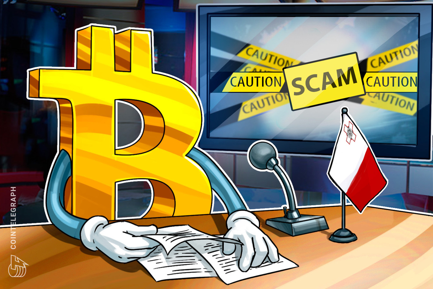 Malta's Financial Watchdog Warns Global Investors Against 'Bitcoin Revolution' Scam