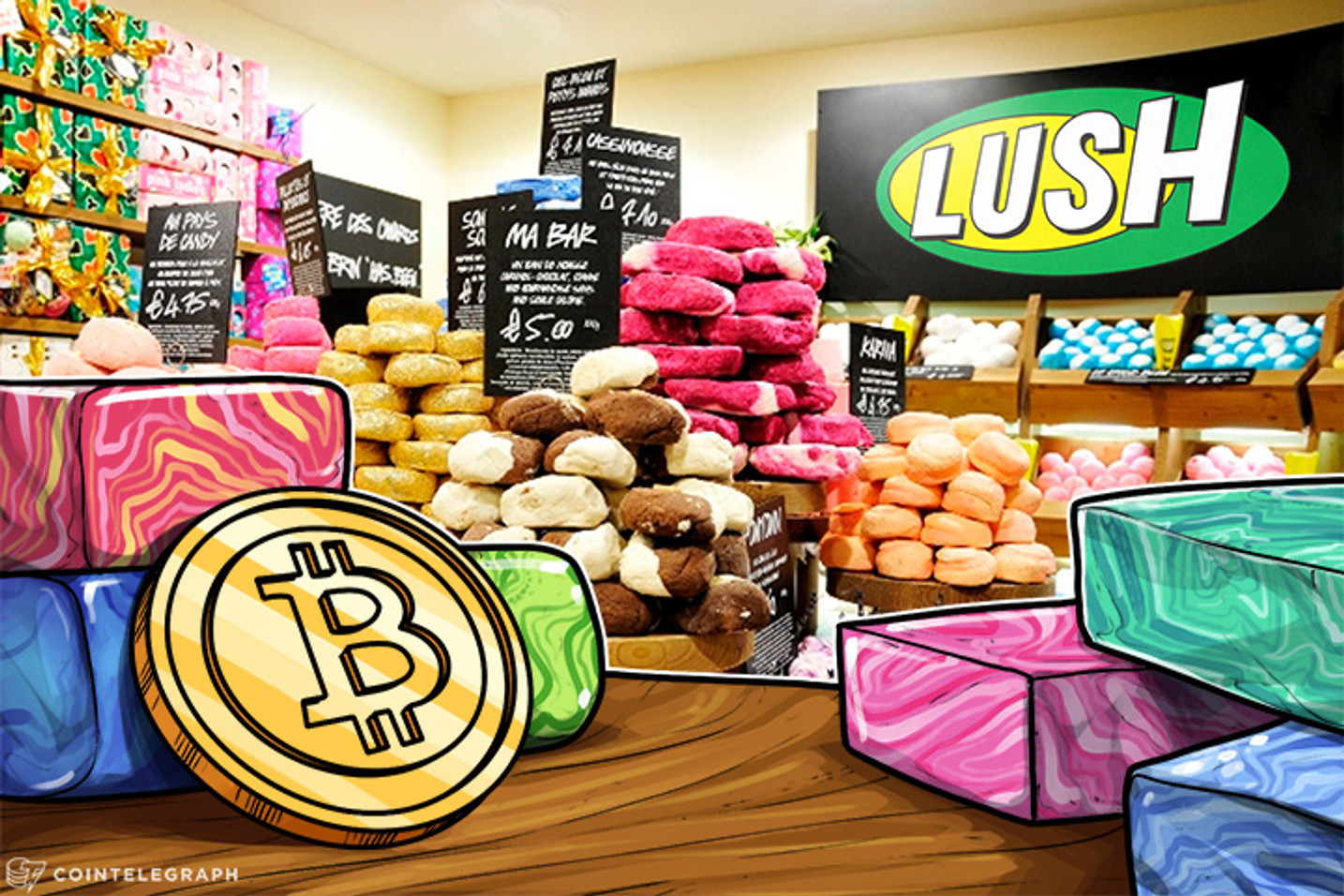 Cosmetics Giant Lush Accepts Bitcoin