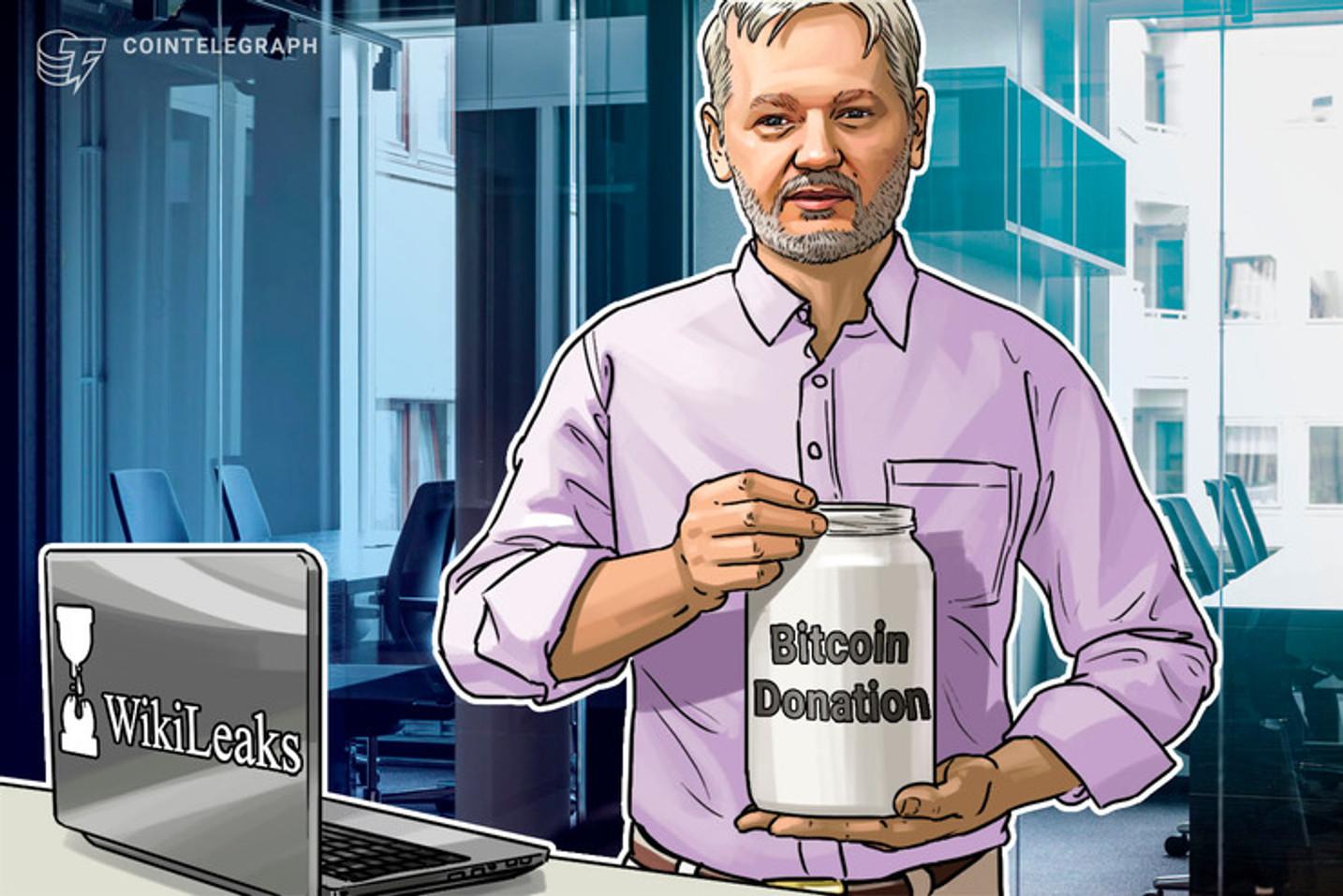 Dirección de Bitcoin de Wikileaks ha recibido más de 4,000 BTC en donaciones