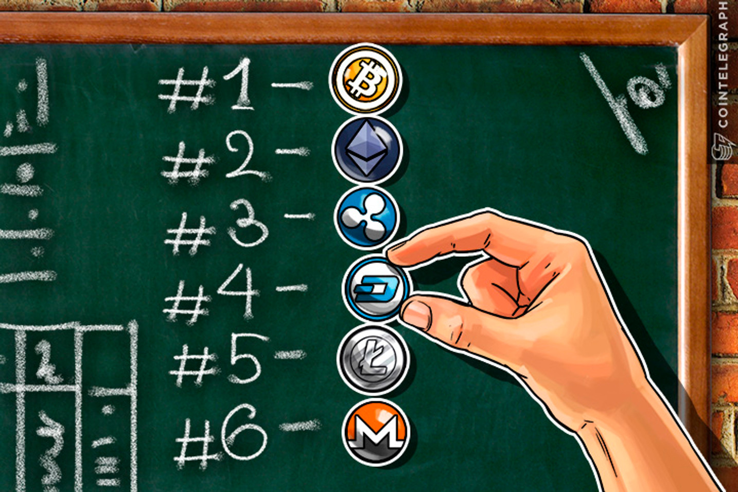Dash Passes Litecoin and Monero to Claim Number 4 Cryptocurrency Status
