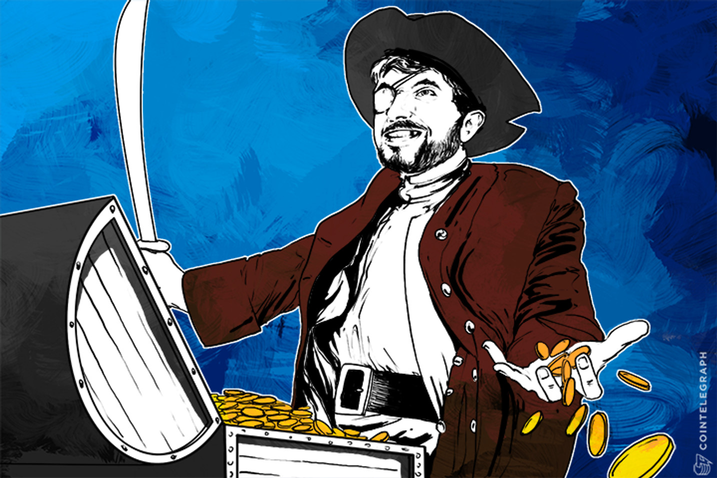 Bitcoin Gold Floods Coffers of Finnish Pirate Party