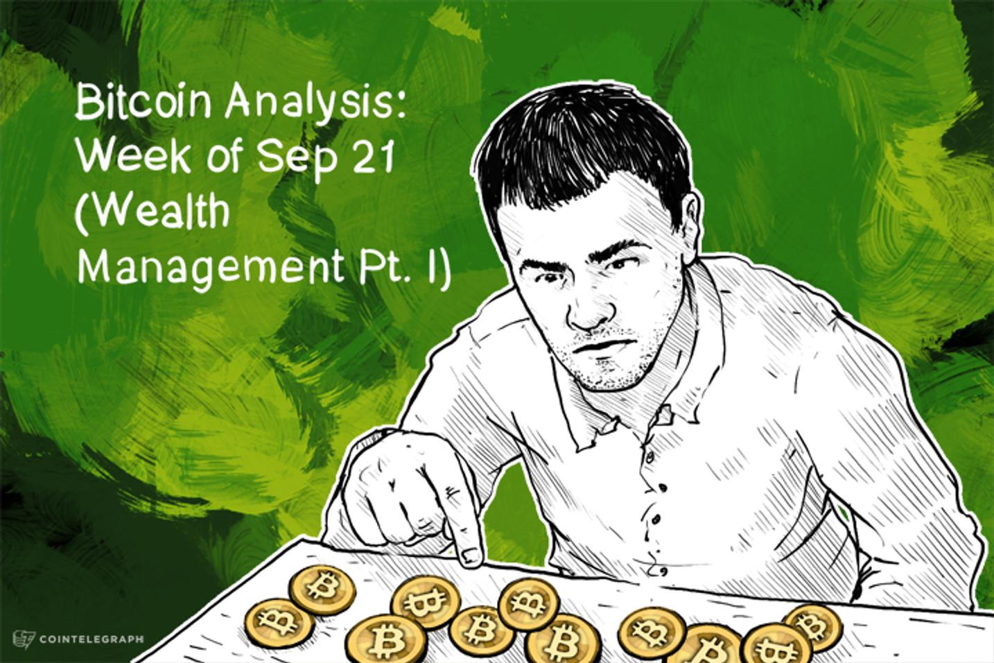 Bitcoin Analysis: Week of Sep 21 (Wealth Management Pt. I)
