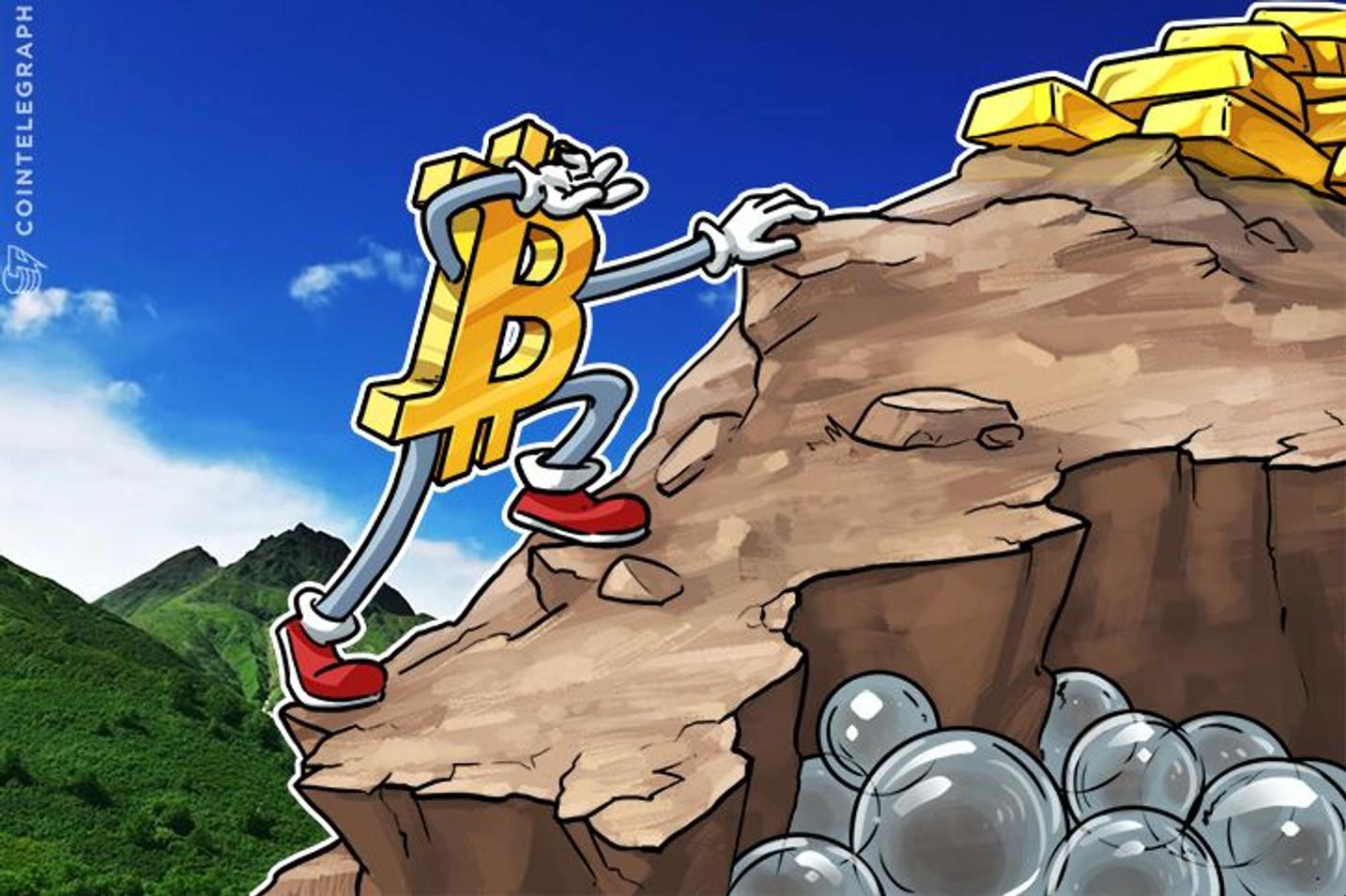 Apesar de potenciais forks e volatilidade, o preço do Bitcoin visa os US $ 6.000 em 2017