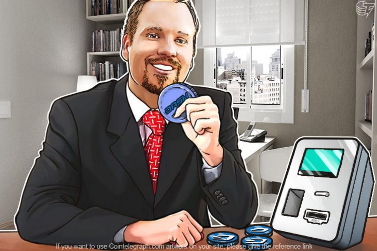Dash postaje prva kriptovaluta pored bitkoina koju nudi Lamassu ATM projekat