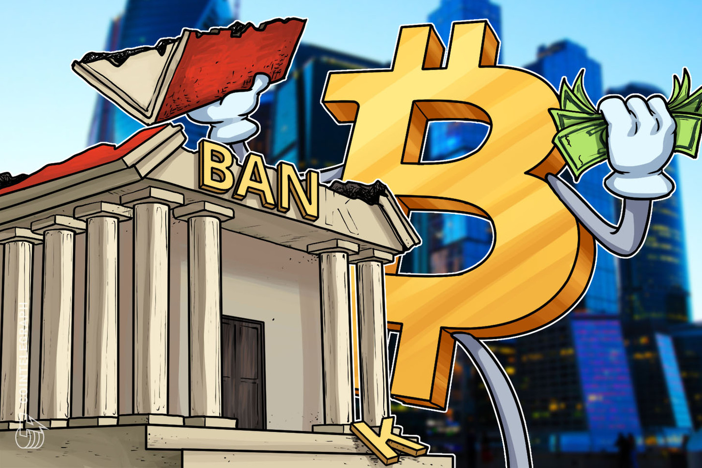 Survey Respondents Are Split 50/50 Between Bitcoin & Big Banks