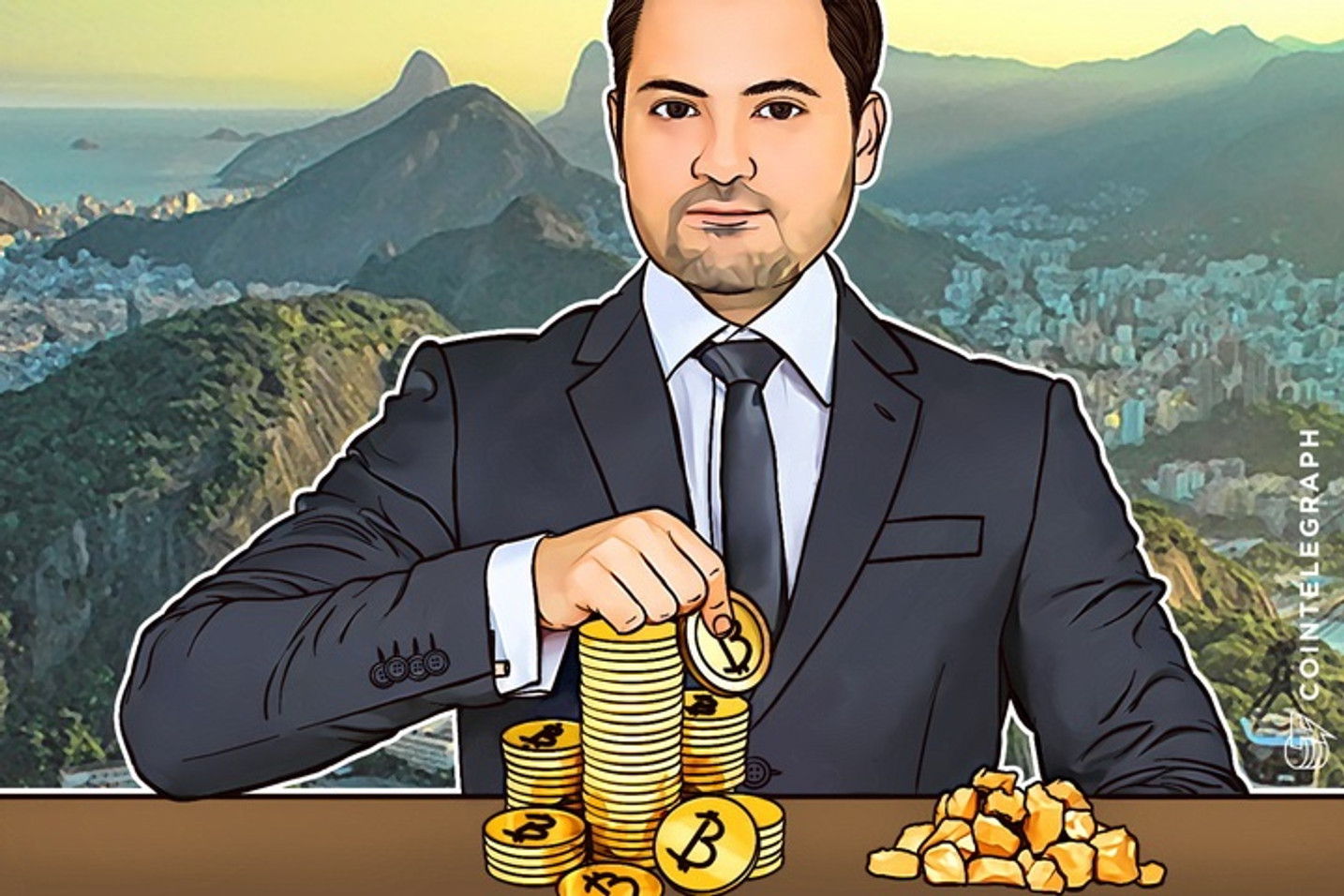 Brazil's Bitcoin Trade Grows Exceeding Gold, Its Banks Test Out Blockchain