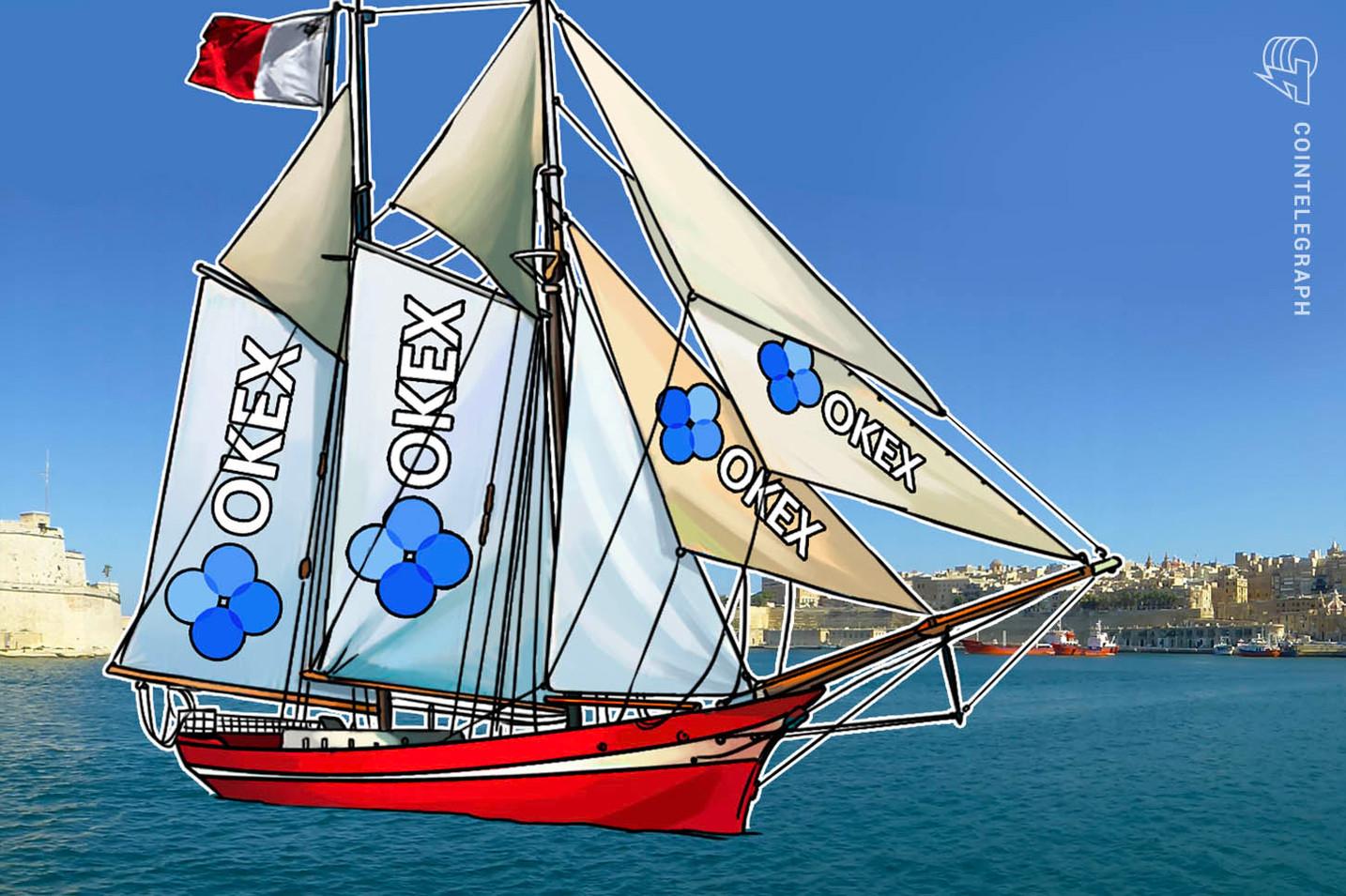 """ثاني أكبر بورصة عملات رقمية في العالم """"أوكي إكس"""" تنتقل إلى 'جزيرة بلوكتشين'.. مالطا"""