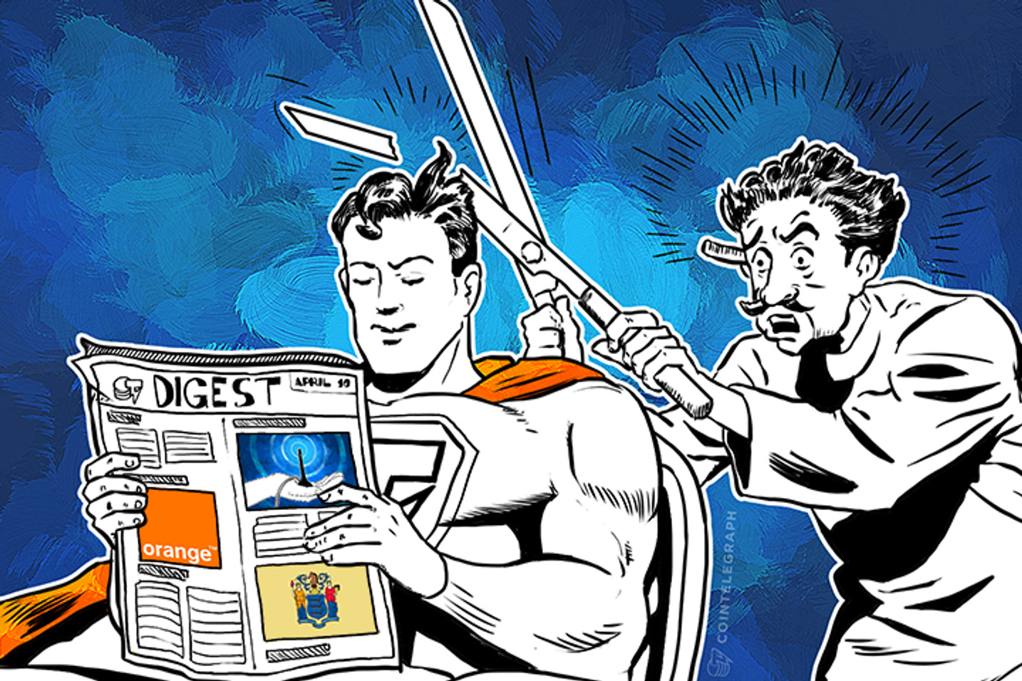 APR 10 DIGEST: New Jersey Set to Tax Bitcoin, Mobile Giant Orange Investing in Digital Currency