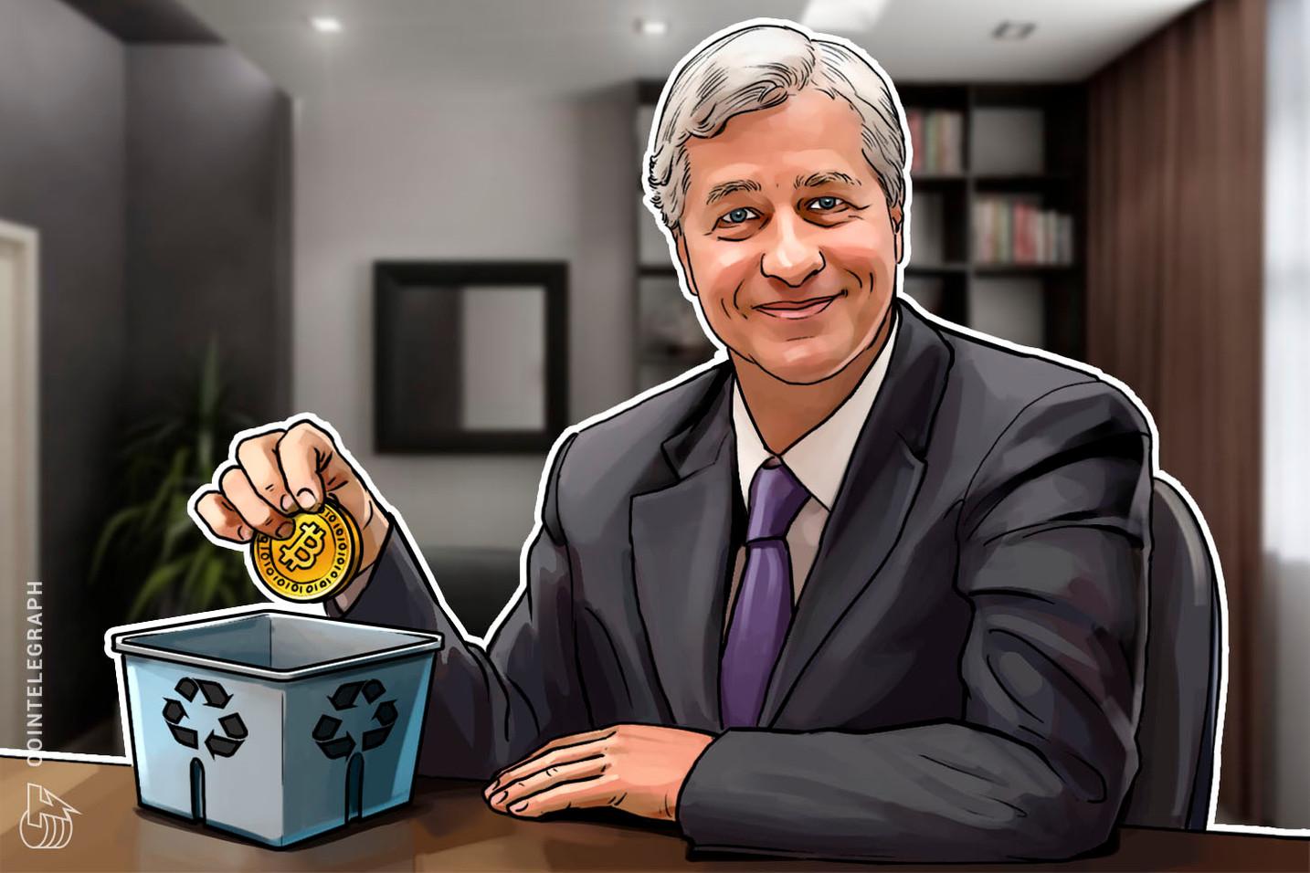 JPMorgans CEO Jamie Dimon führt Bitcoin-Beschimpfung fort