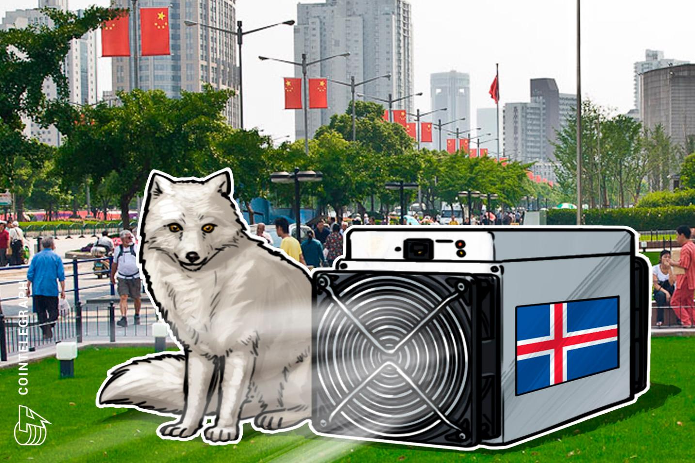 الاشتباه في وجود ٦٠٠ من أجهزة تعدين بيتكوين المسروقة من أيسلندا في الصين