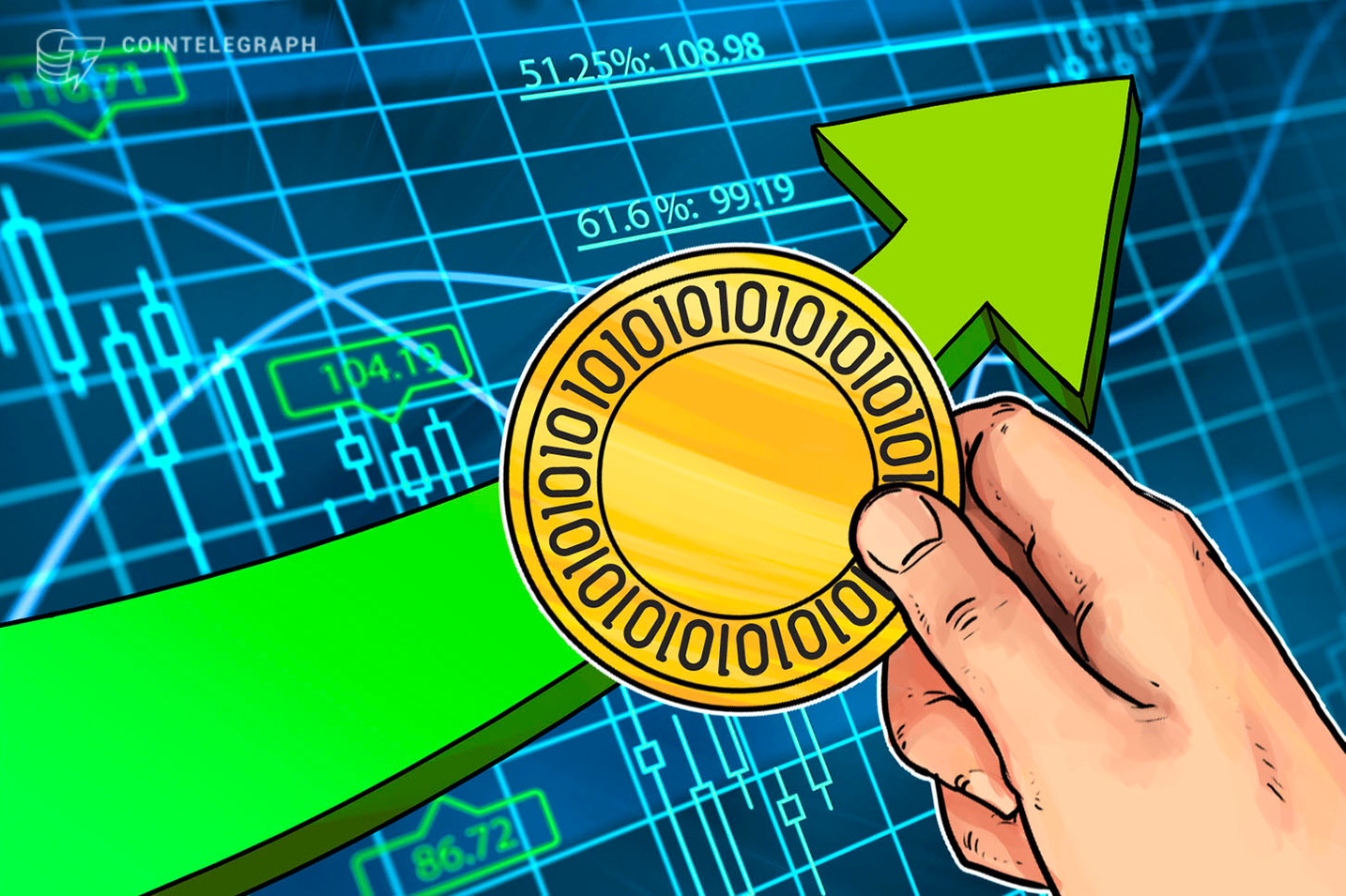 Crypto Markets See Steady Growth Following Yesterday's Sharp Price Jump