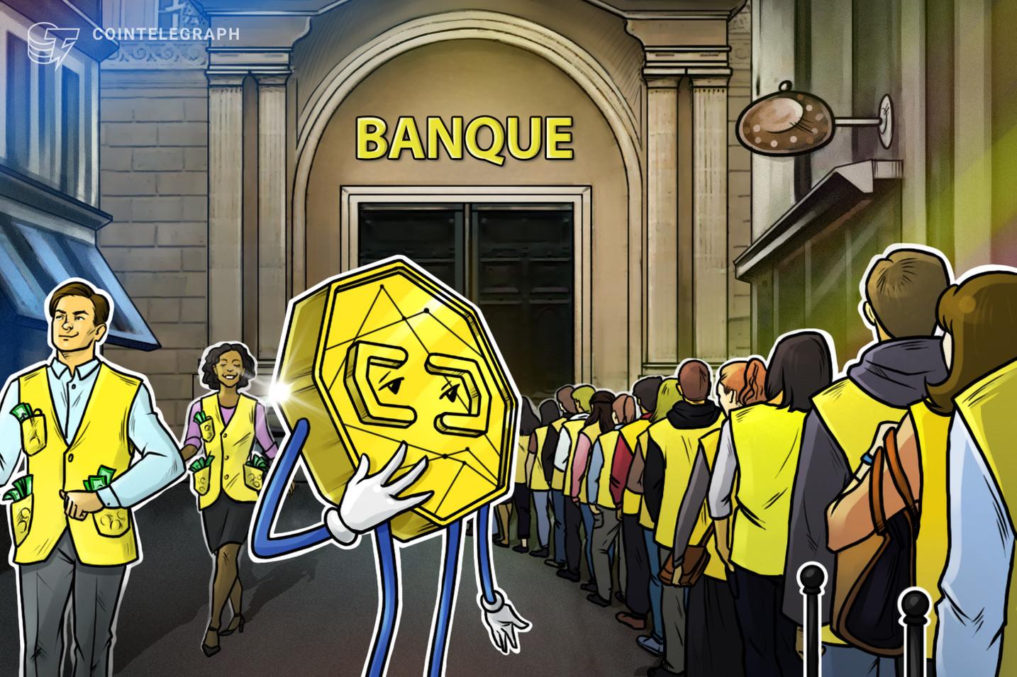 Was wir über den Bankensturm der Gelbwesten wissen und wie Krypto dabei behilflich sein könnte