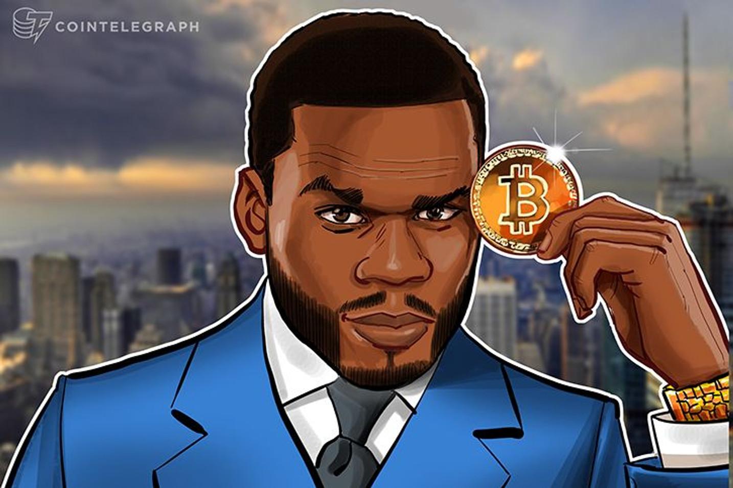 El rapero 50 Cent niega que sea millonario de Bitcoin en el tribunal de bancarrota