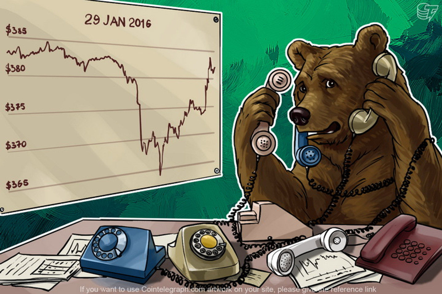 Daily Bitcoin Price Analysis: A Short-Term Decline Or A Downtrend?