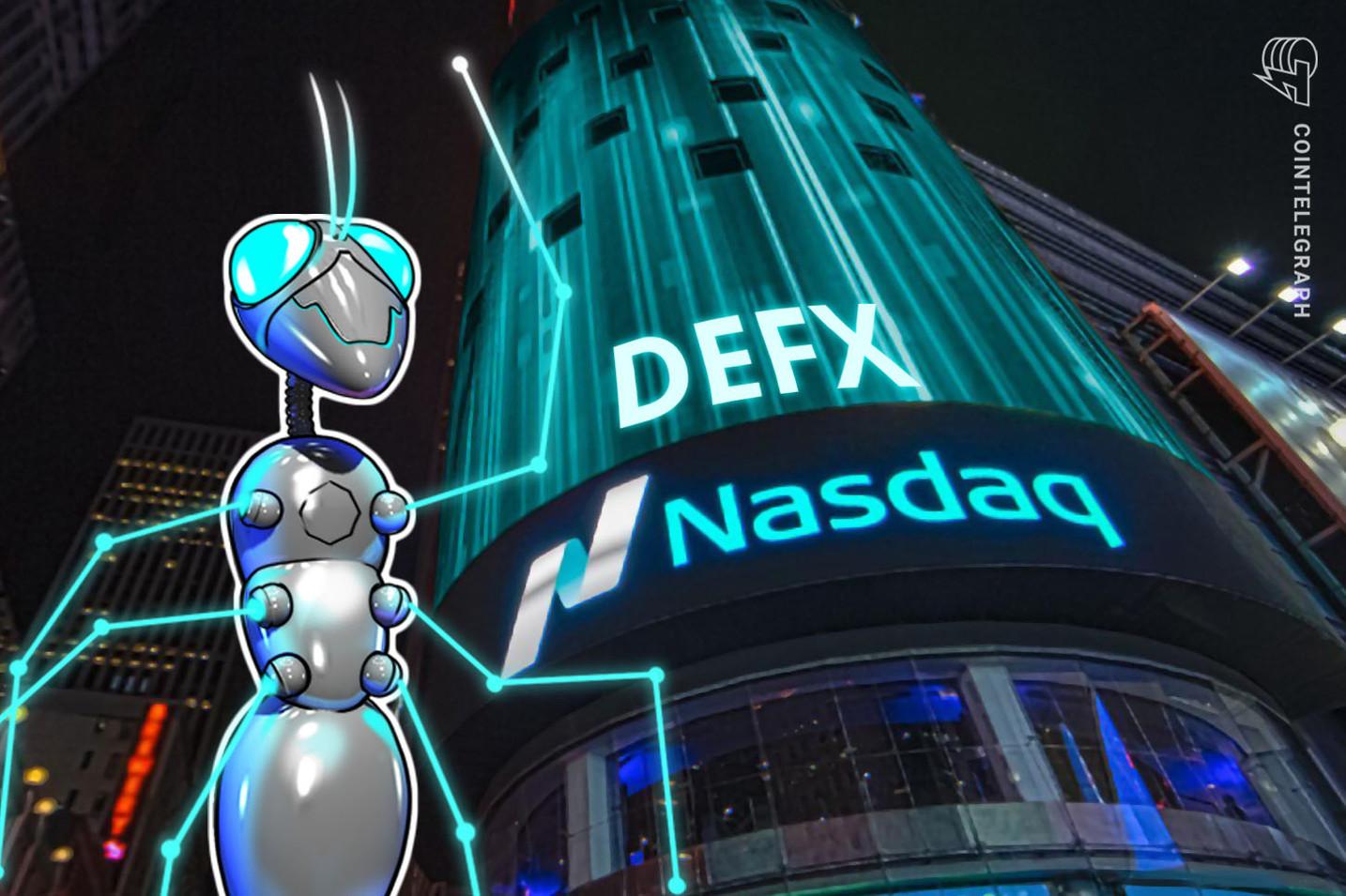 Nasdaq Lists Decentralized Finance Index for Digital Assets