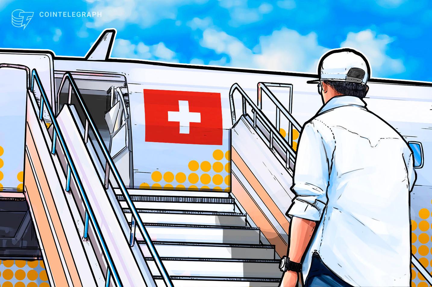 ビットコインATMメーカーのラマスがスイスに移転、スイスでの仮想通貨企業の集積進む