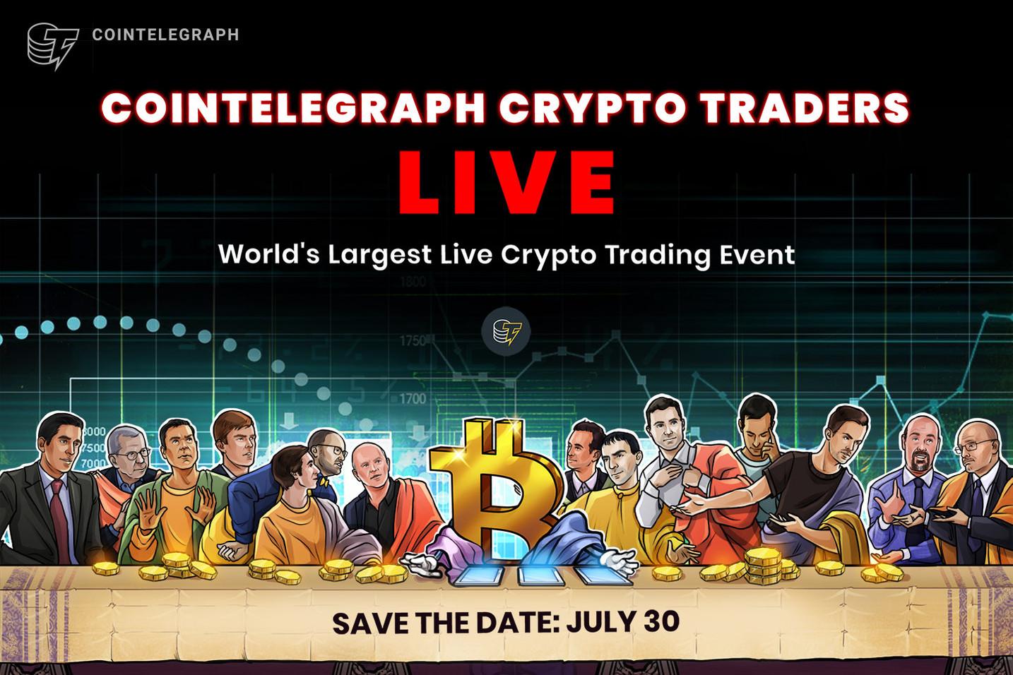 Cointelegraph Live en YouTube: aprende sobre trading de criptomonedas con los mejores