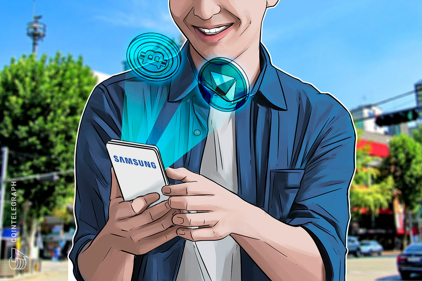 Samsung Announces Galaxy S10 Crypto Partners, Bitcoin and Ethereum Support