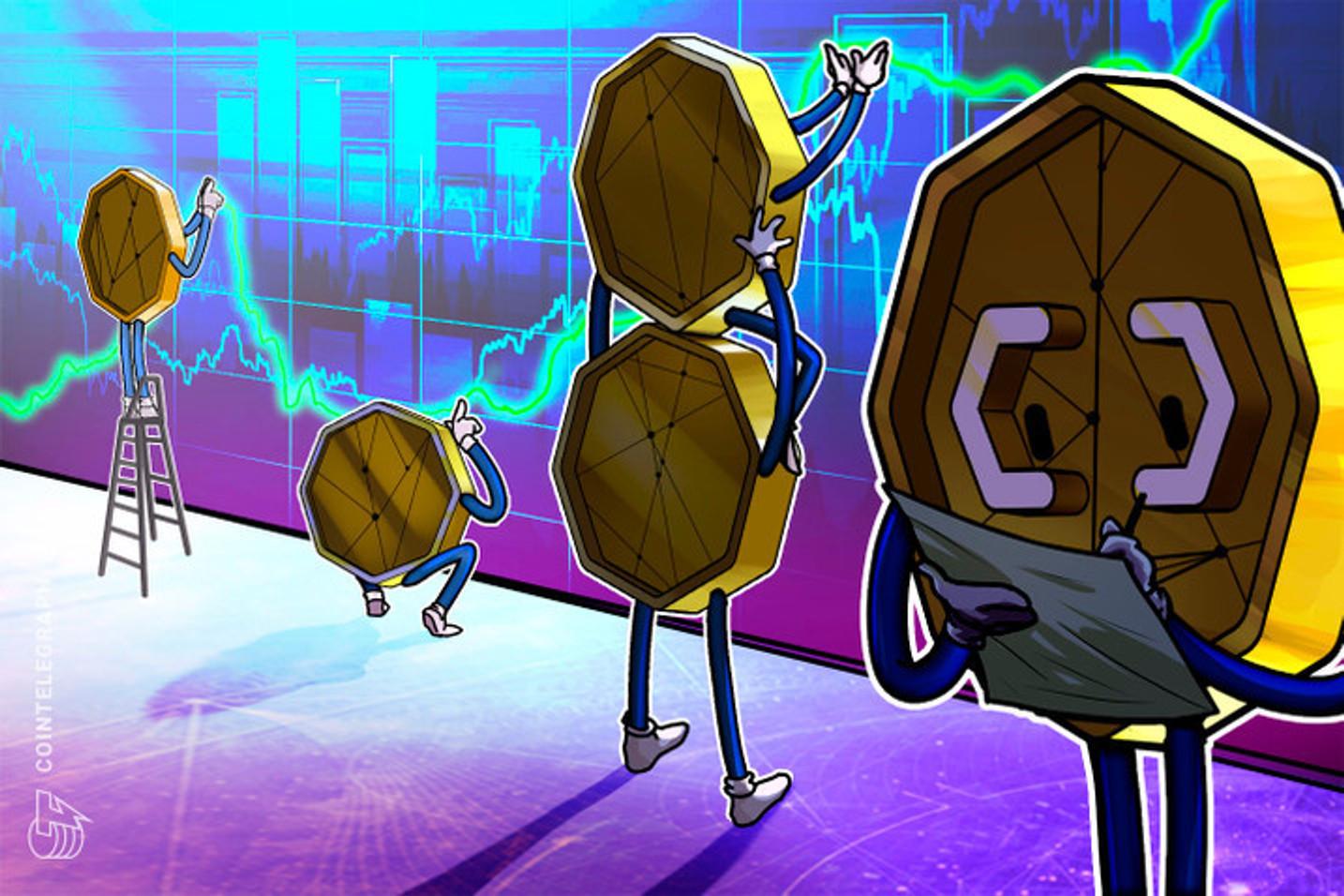 Fundos de criptomoedas brasileiros superam o Bitcoin com crescimento de até 85% no semestre