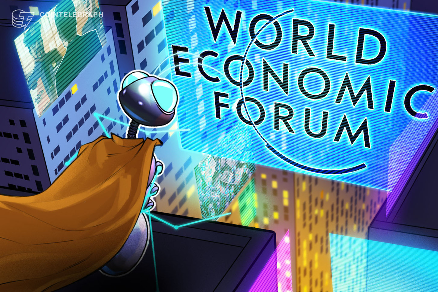 World Economic Forum Suggests Fighting Corruption With Blockchain Tech