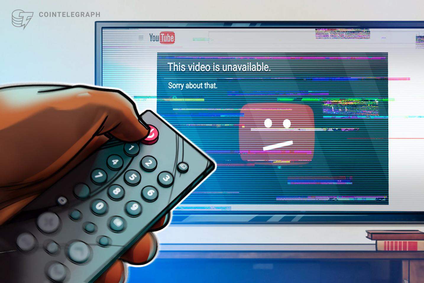 YouTube ha bloccato il canale di Tone Vays, celebre personalità del settore crypto