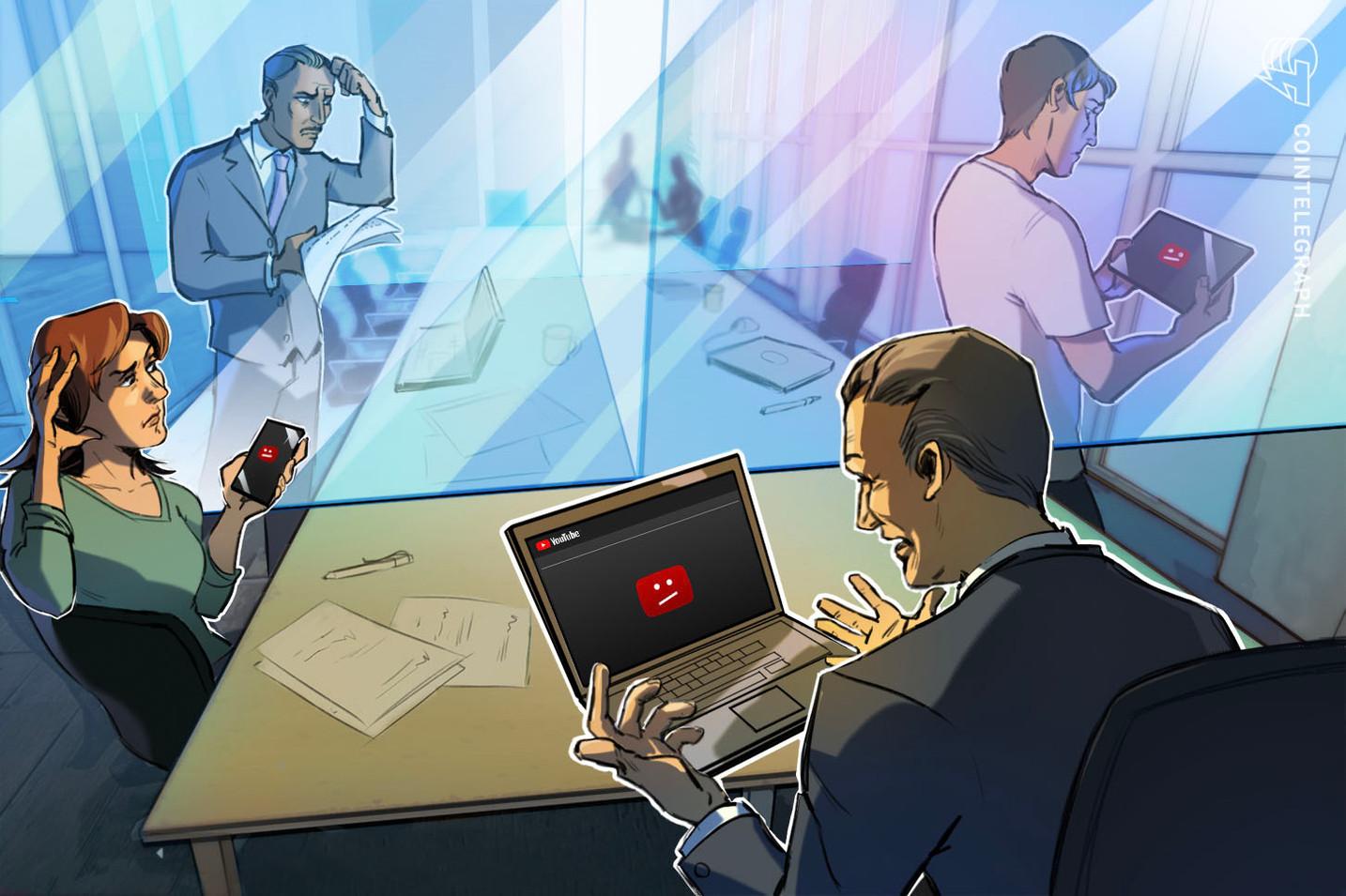 Presunto gurú de la reincorporación explica por qué se banean los canales relacionados a las criptomonedas en YouTube