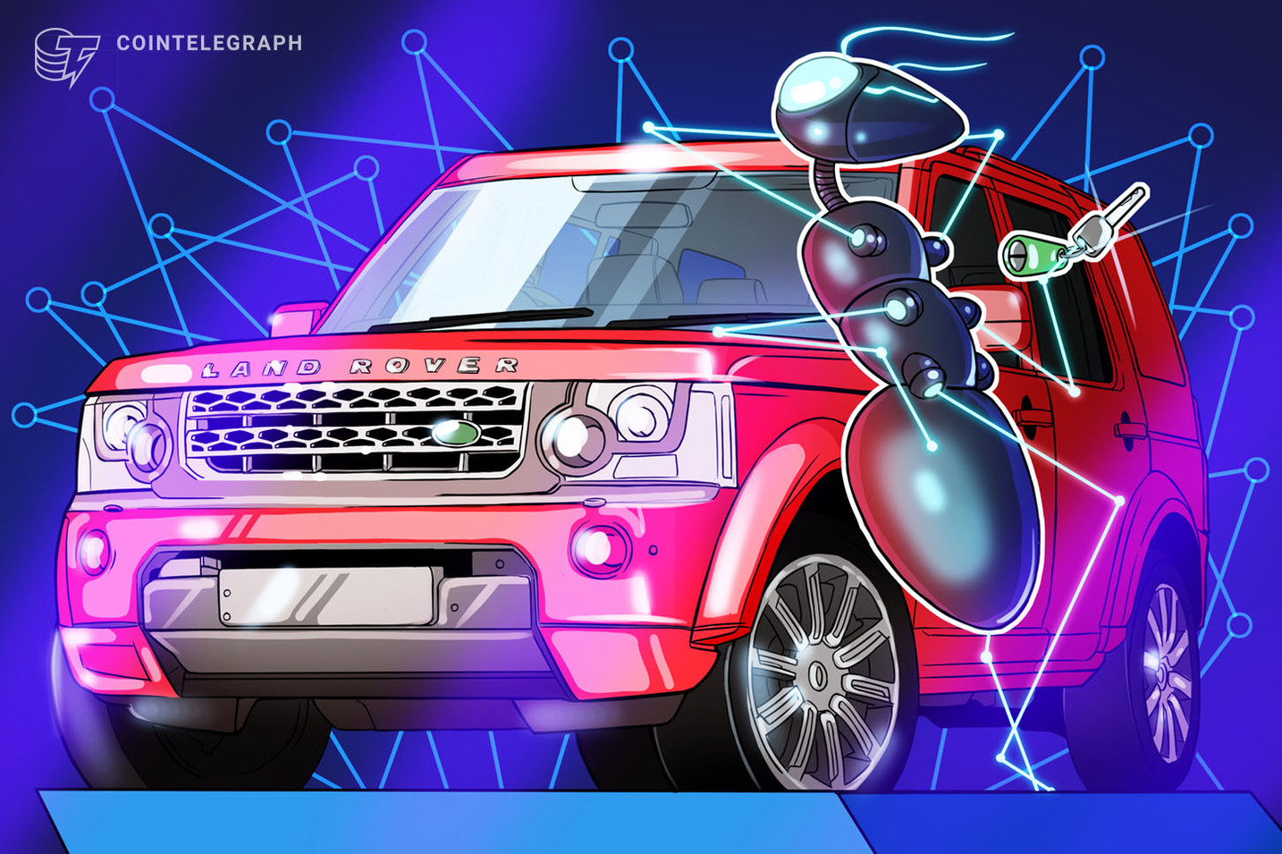 Land Rover Car Company Acknowledges Historical Significance of Bitcoin Network