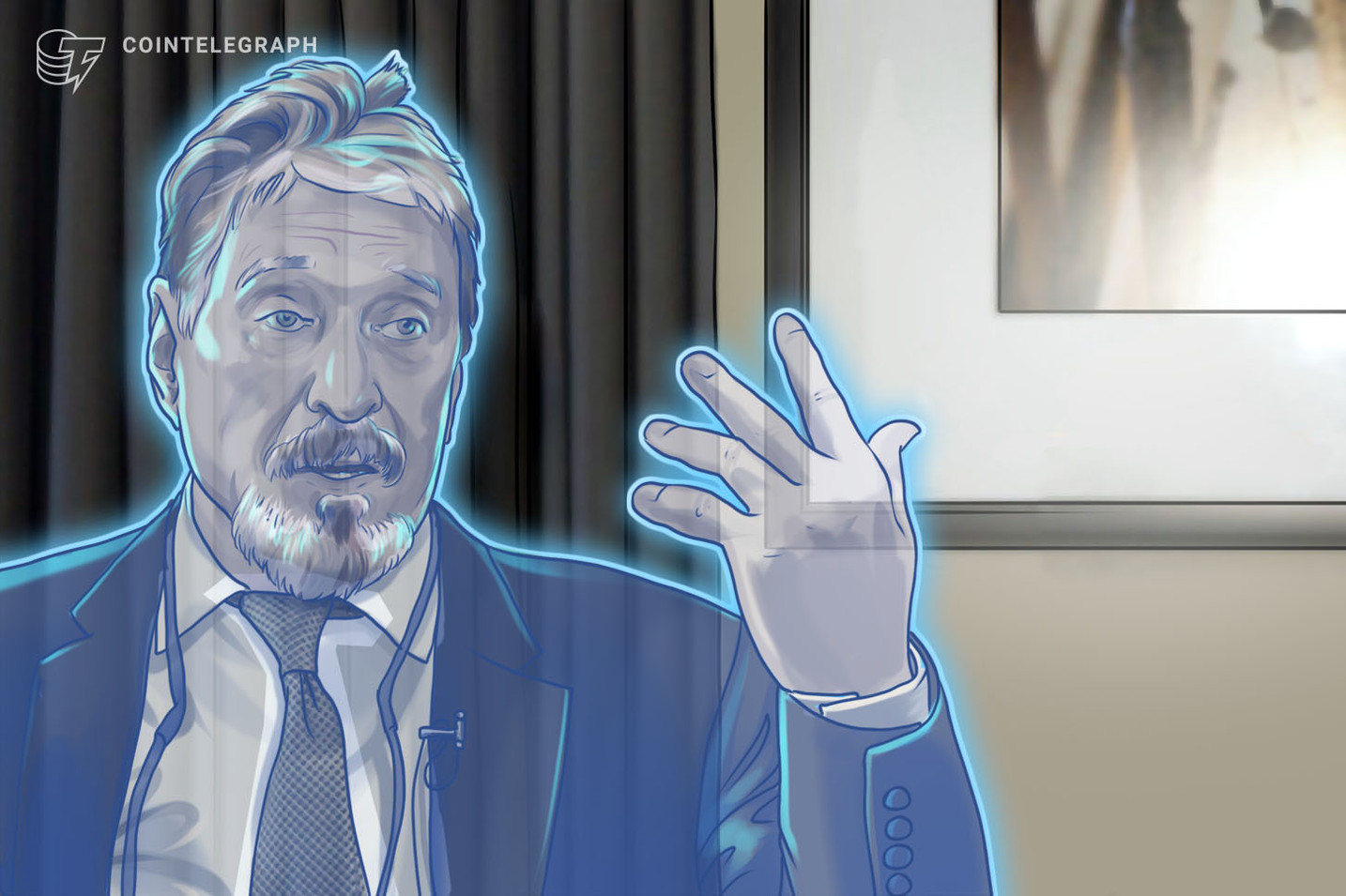 John McAfee Has Left His Own Privacy Asset Project