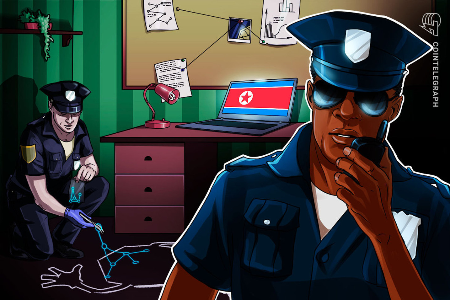 US authorities go after 280 crypto accounts allegedly tied to North Korea