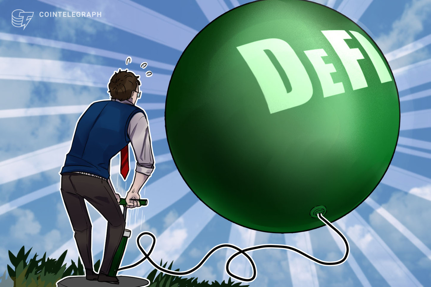 Messari's Ryan Selkis says DeFi bubble will pop soon