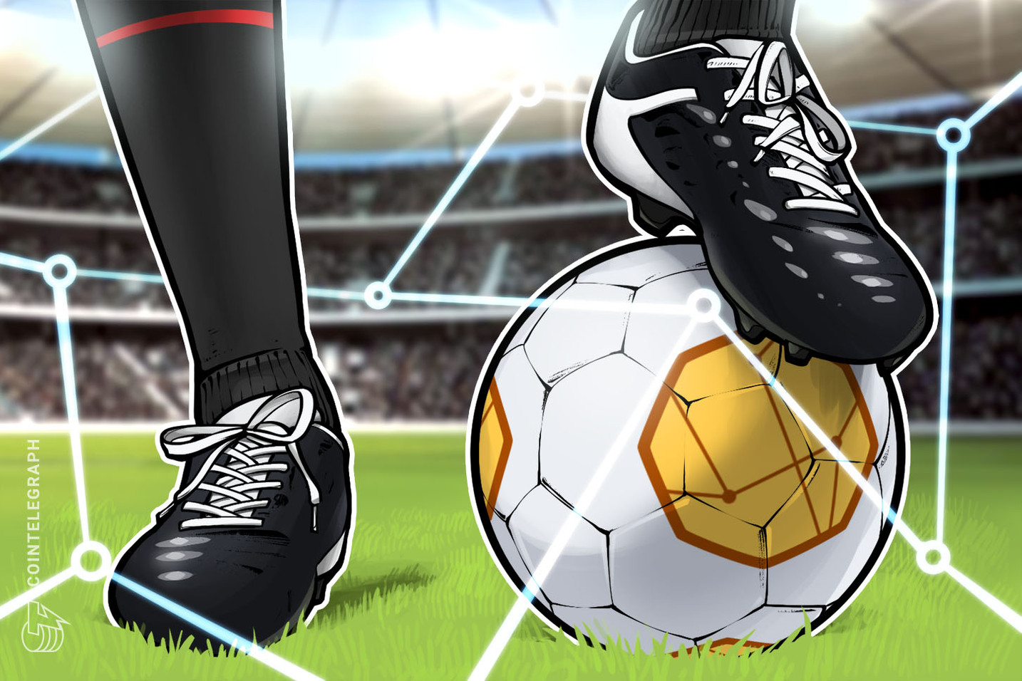 Italian soccer club SS Lazio goes crypto with StormGain exchange