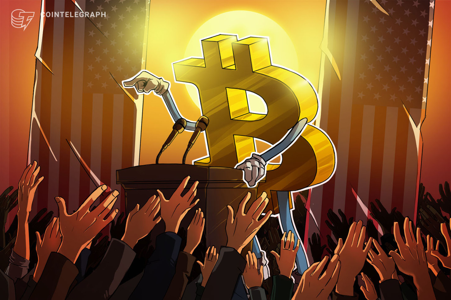 Milletvekili adayı Bitcoin bağışı kabul ederek düzenleyicilere meydan okudu!