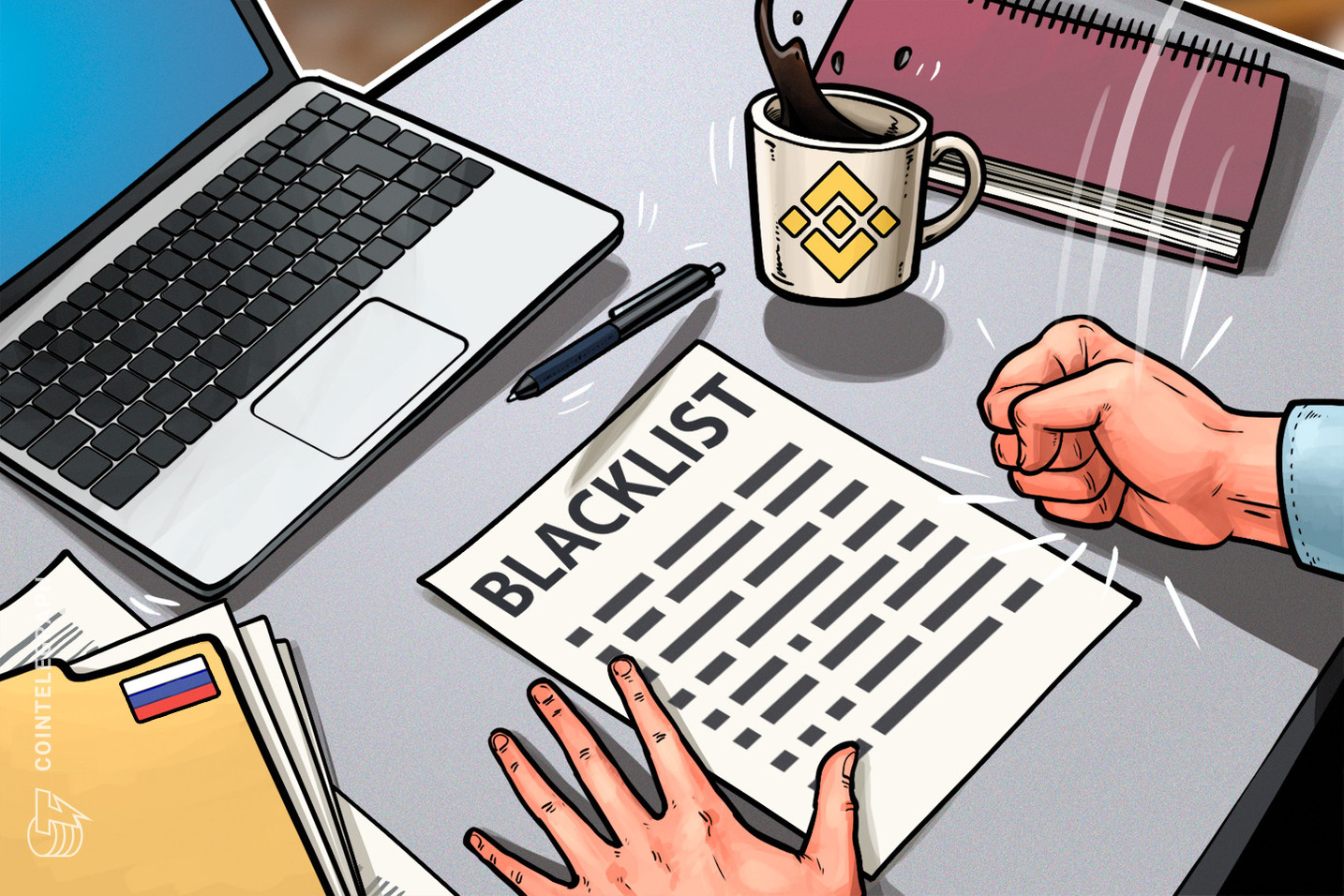 La Russia aggiunge Binance alla lista dei siti web vietati