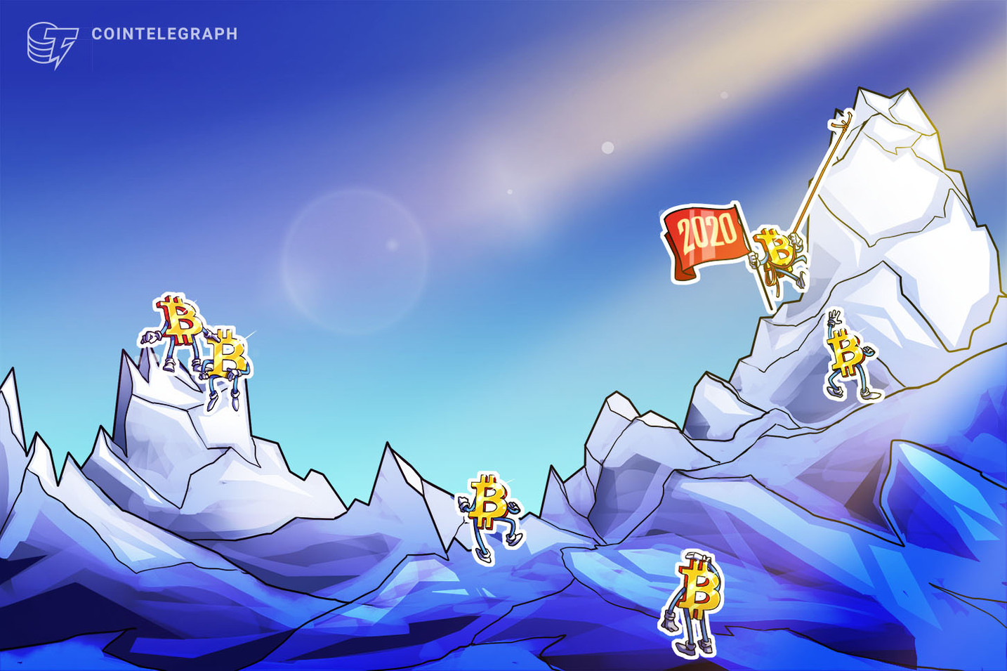 ¿Congelado? La correlación de precios de Bitcoin con otros activos aún no está definida