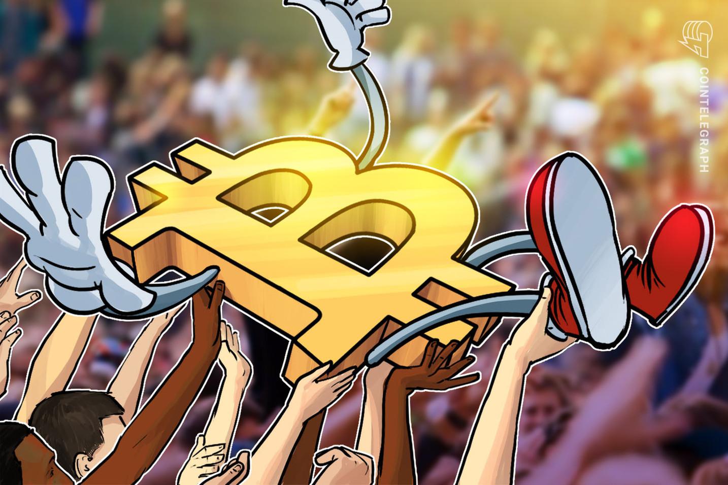 Nuovi indirizzi Bitcoin in crescita dopo le pubblicità crypto del governo cinese