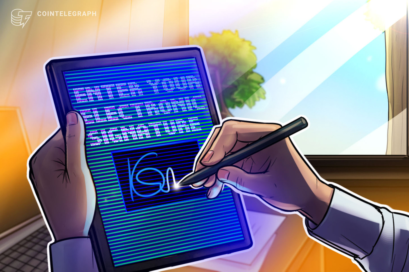 US: New bill would legally recognize digital signatures on a blockchain