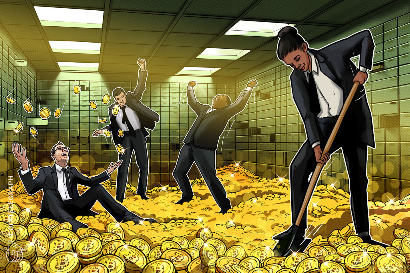 仮想通貨ビットコインが5つの大手取引所に集中 | BTC供給量の約10%を保有