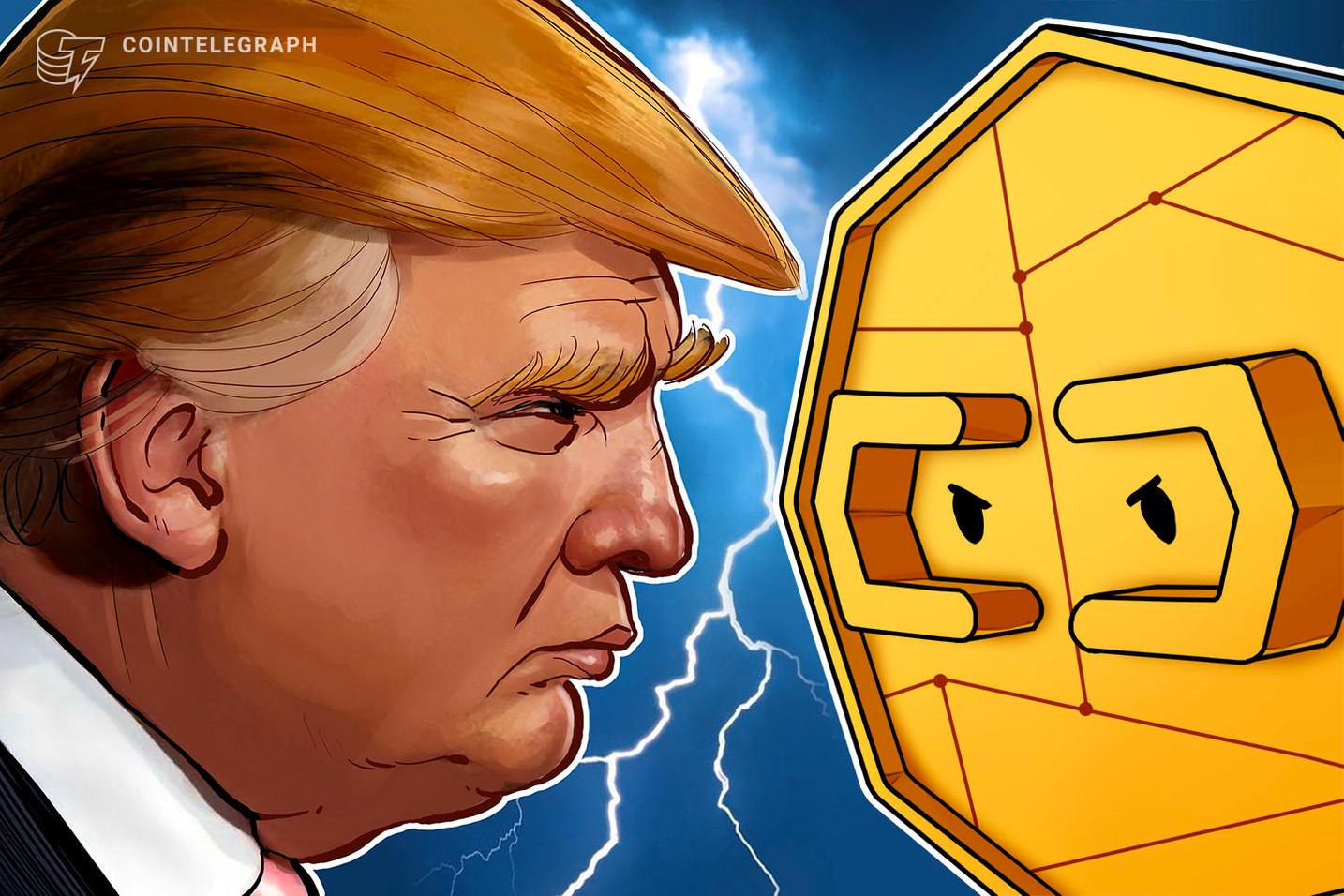 Mercados de previsão cripto se voltam contra Trump após o primeiro debate