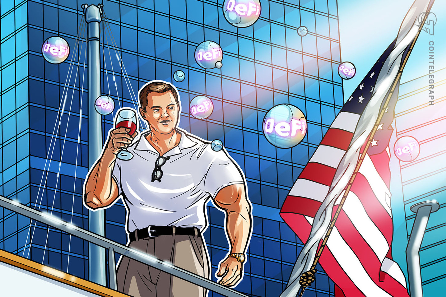 Wolf of Wall Street on steroids: DeFi may be a bubble, but it's making us stronger