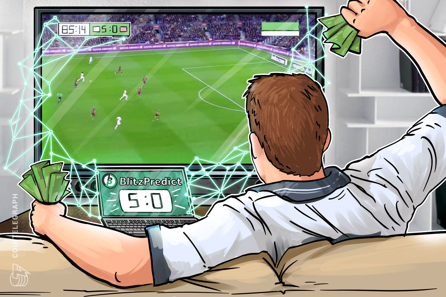 Blockchain Sports Betting App to Predict Outcome of World Cup Matches