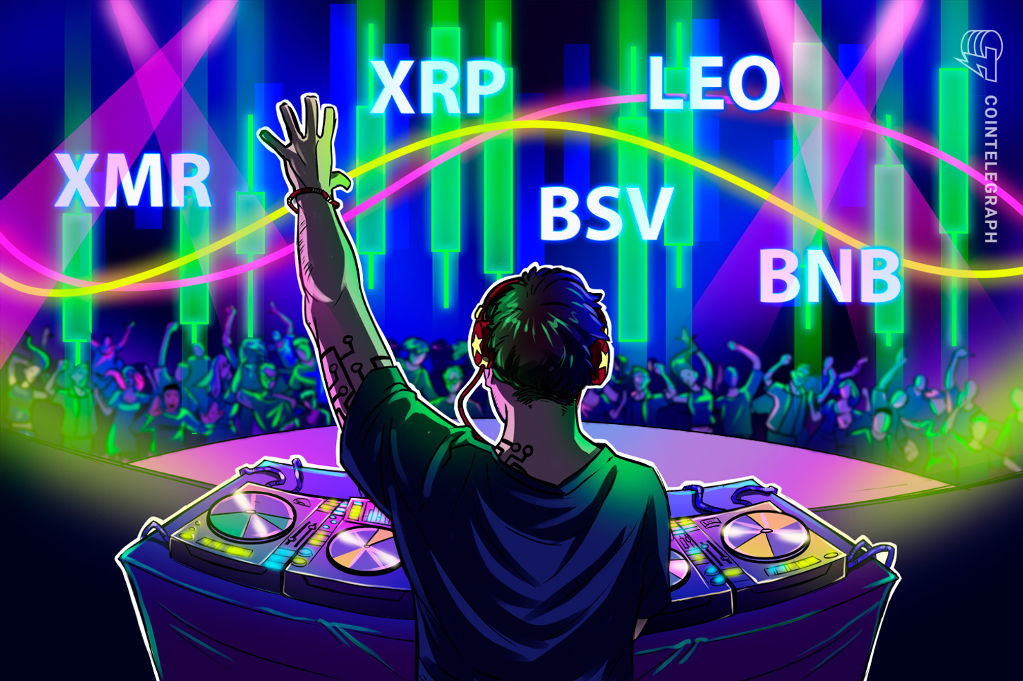 Top-5 Cryptos This Week: XMR, XRP, BSV, LEO, BNB