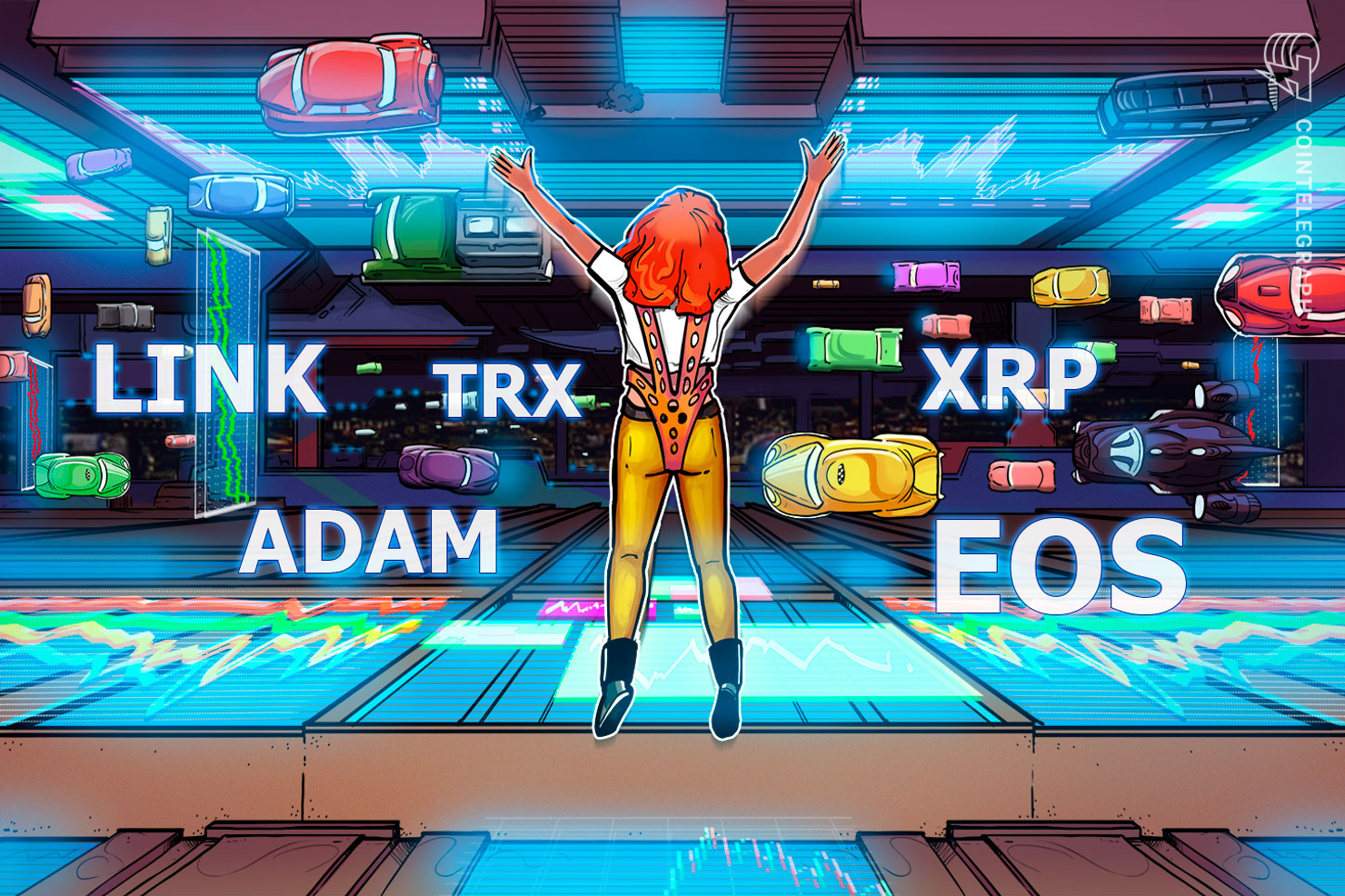 Top-5 Crypto Performers: LINK, TRX, EOS, XRP, ADA
