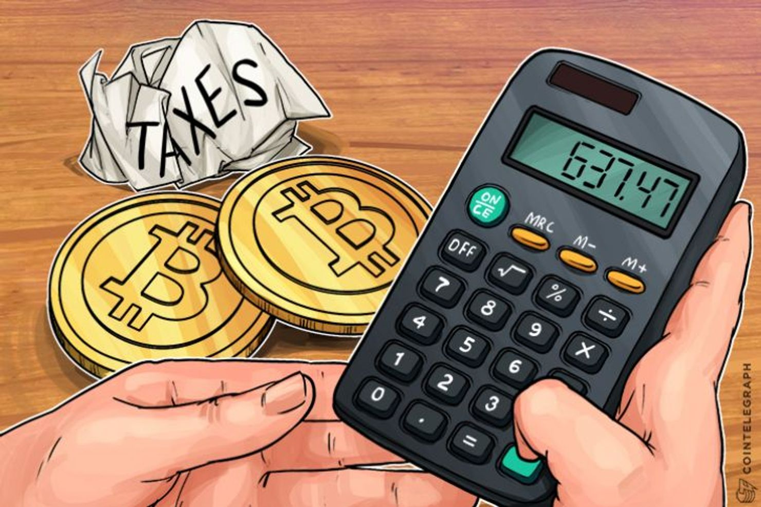 calculate capital gains tax on cryptocurrency