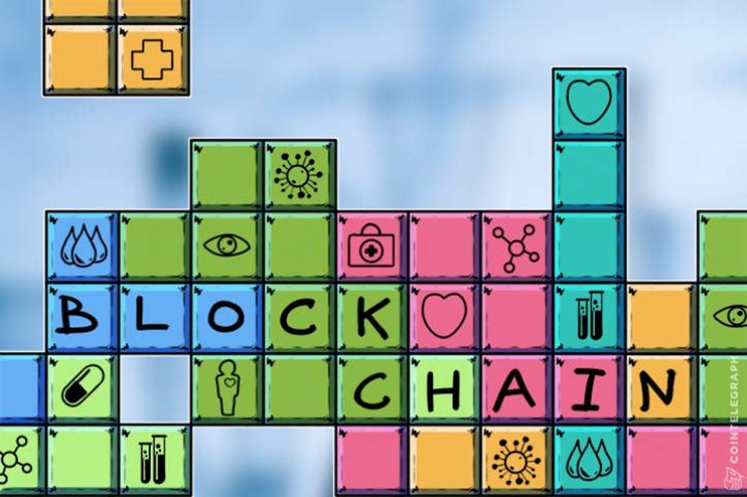 Blockchained Magazine cover image